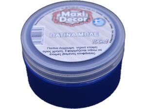 Πατίνα Mπλέ 100 ml Maxi Decor