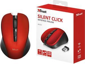 Ασύρματο ποντίκι Trust Mydo Silent Click κόκκινο