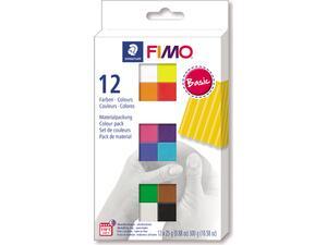Πηλός FIMO SOFT STAEDTLER σετ 12 χρωμάτων