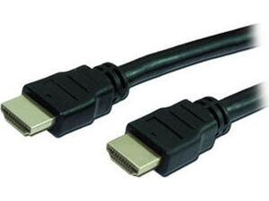 Καλώδιο HDMI MediaRange 1.4 with Ethernet Gold-plated 3m μαύρο