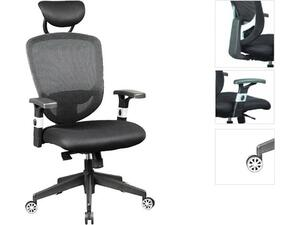 Πολυθρόνα γραφείου διευθυντή BF9100 μαύρη [E-00009703(EO521)]
