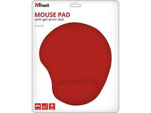 Mouse Pad με στήριγμα καρπού TRUST BigFoot κόκκινο