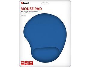 Mouse Pad με στήριγμα καρπού TRUST BigFoot μπλε
