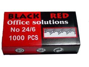 Σύρματα Συρραπτικού BLACK/RED 24/6 (1000 τεμάχια)