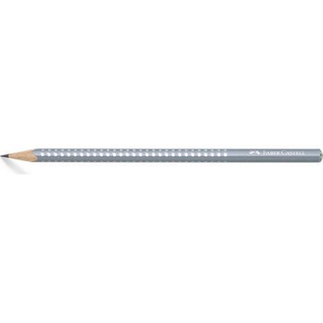 Μολύβι γραφίτη Faber Castell Sparkle B γκρι