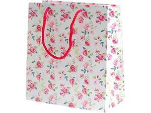 """Χάρτινη σακούλα δώρου Υ26x36x12cm """"Romantic"""""""