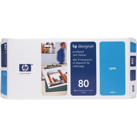 Κεφαλή εκτύπωσης HP 80 Cyan C4821A (Cyan)