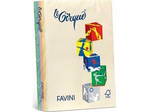 Χαρτί εκτύπωσης FAVINI 80g/m2 Α4 Πακέτο 500 φύλλων διάφορα χρώματα