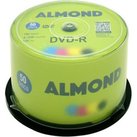 DVD-R Almond 4.7GB 16x πομπίνα 50 τεμαχίων
