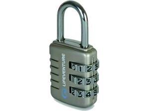 Λουκέτο combi lock lifeventure 55X25cm ασημί