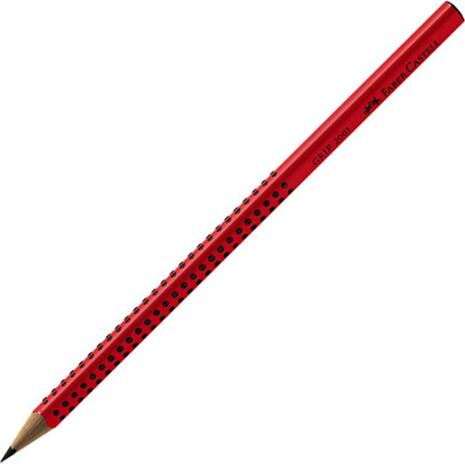 Μολύβι Faber Castell Grip  2001 HB κόκκινο