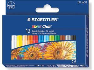 Λαδοπαστέλ STAEDTLER Noris 241 (Συσκευασία 12 τεμαχίων)