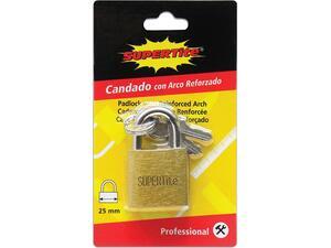 Λουκέτο- κλειδαριά με κλειδί SUPERTITE 25mm
