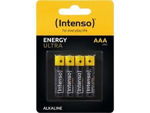 Αλκαλικές μπαταρίες INTENSO AAA LR03 Energy Ultra (συσκευασία 4 τεμαχίων) (7501414)
