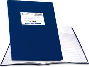 """Τετράδιο Skag """"ΕΞΗΓΗΣΗ SUPER"""" 80 Φύλλων 17x25 Ριγέ Μπλε (Μπλε)"""