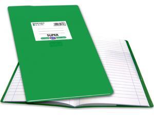 """Τετράδιο Skag """"ΕΞΗΓΗΣΗ SUPER"""" Ριγέ 100 Φύλλων 17x25 Πράσινο (Πράσινο)"""
