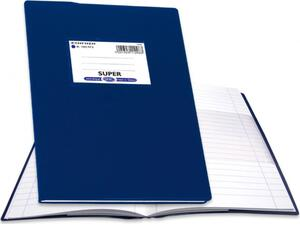 """Τετράδιο Skag """"ΕΞΗΓΗΣΗ SUPER"""" Ριγέ 100 Φύλλων 17x25 Μπλε (112963) (Μπλε)"""