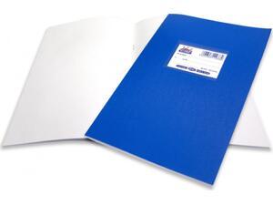 """Τετράδιο Skag """"SUPER ΔΙΕΘΝΕΣ"""" Λευκό 50 Φύλλων 17x25 Μπλε (Μπλε)"""