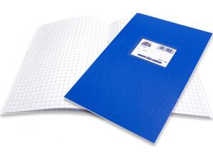 """Τετράδιο Skag """"SUPER ΔΙΕΘΝΕΣ"""" ΜΚ (0,8) 50 Φύλλων 17x25 Μπλε (Μπλε)"""