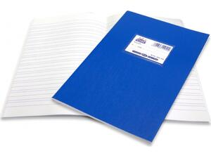 """Τετράδιο Skag """"SUPER ΔΙΕΘΝΕΣ"""" Διπλοχάρακο 50 Φύλλων 17x25 Μπλε (Μπλε)"""