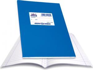 """Τετράδιο Skag """"SUPER ΔΙΕΘΝΕΣ"""" Ριγέ 60 Φύλλων 17x25 Μπλε (Μπλε)"""