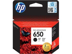 Μελάνι εκτυπωτή HP 650 Black CZ101AE