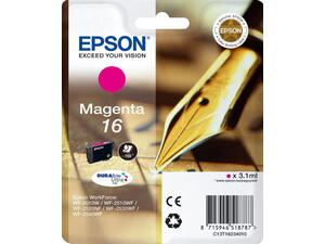 Μελάνι εκτυπωτή EPSON 16 Magenta C13T16234010