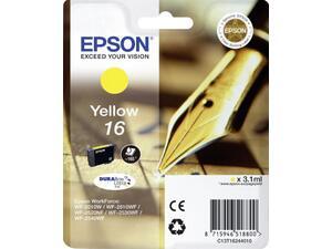 Μελάνι εκτυπωτή EPSON 16 Yellow C13T16244010