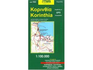 Χάρτης Κορινθίας