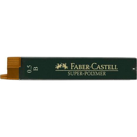 Μύτες μηχανικών μολυβιών Faber Castell 0.5mm B