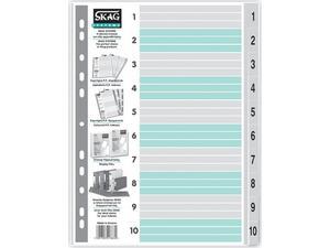 Διαχωριστικό Skag πλαστικό αριθμητικό (1-10)