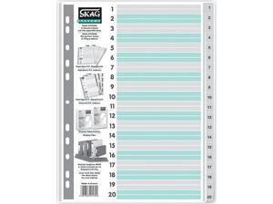 Διαχωριστικό Skag πλαστικό αριθμητικό (1-20)