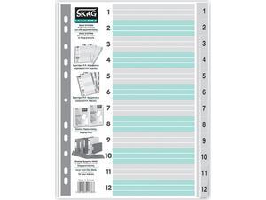 Διαχωριστικά πλαστικά Skag Αριθμητικά (1-12)