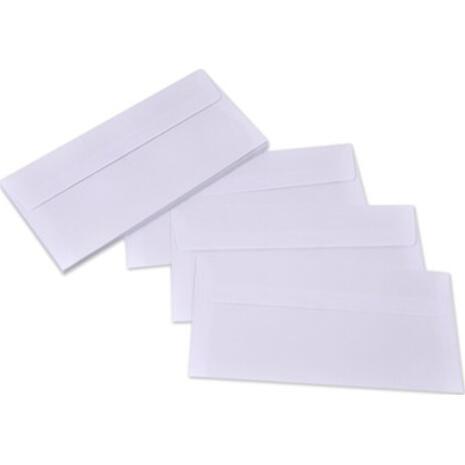 Φάκελος Αλληλογραφίας λευκός 11,4x23cm (1τεμάχιo) (Λευκό)