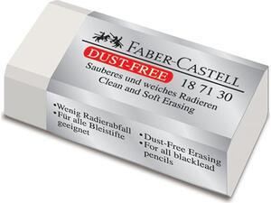 Γόμα λευκή για μολύβι FABER-CASTELL dust free vinly mini (187130)