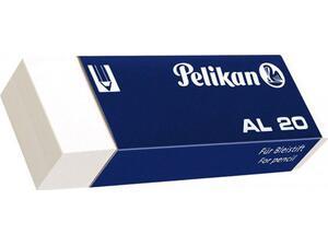 Γόμα λευκή για μολύβι PELIKAN AL-20 μεγάλη