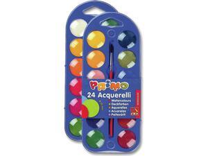 Νερομπογίες PRIMO acguerelli Φ25mm (24 χρωμάτων)
