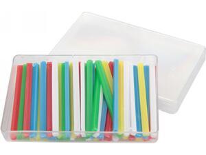 Ξυλάκια αρίθμησης πλαστκά (κασετίνα 50 τεμάχια)