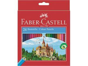 Ξυλομπογιές FABER - CASTELL fabstifte μεγάλες  (24 τεμάχια)