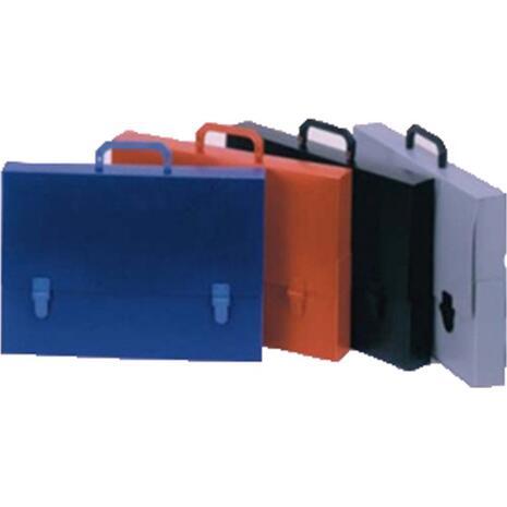 Τσάντα σχεδίου πλαστική με χερούλι Διαστάσεις: 30Χ40Χ5 μπλέ