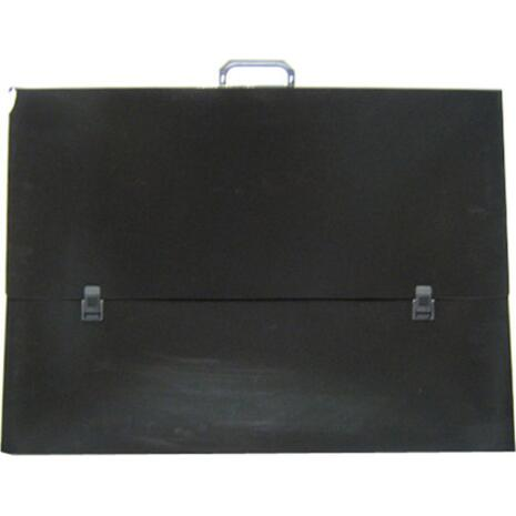 Τσάντα σχεδίου πλαστική με χερούλι  Διαστάσεις: 55Χ75Χ5