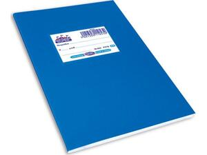 """Τετράδιο Skag """"SUPER ΔΙΕΘΝΕΣ"""" Α5 50 Φύλλων Ριγέ Μπλε (Μπλε)"""