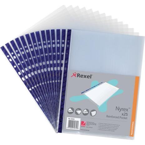Ζελατινες Α4 REXEL μπλέ με άνοιγμα επάνω Νο12233 (1 τεμάχιο)
