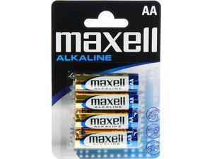 Αλκαλικές μπαταρίες maxell AA LR6