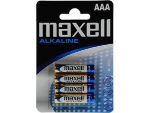 Αλκαλικές μπαταρίες maxell AAA LR03