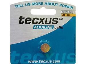 Αλακλική μπαταρία TECXUS alkaline cells LR43