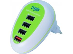Φορτιστής CRYPTO CHARGER CS4UG CHARGING STATION 4 USB EU