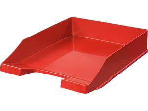 Χαρτοθήκη γραφειου HAN πλαστικό κόκκινο μάτ