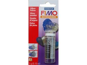 Ασημί σκόνη Fimo για πηλό 3gr