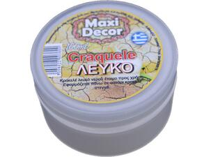 Craquele λευκό Maxi Decor100ml